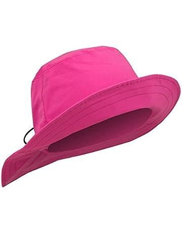Surprizeshop Ladies Waterproof Rain Hat - Pink. ff444e7c1932