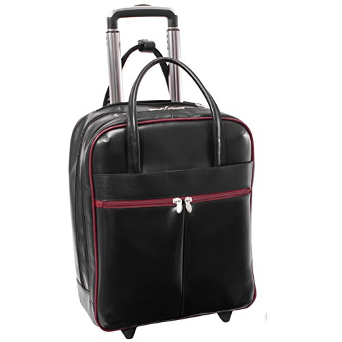 Red Wheeled Computer Cases (Mcklein USA Volo 87930, 15.6