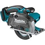 Makita DCS552Z Metal Saw, 18 V, Blue, 136mm