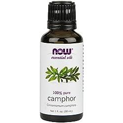NOW Camphor Oil, 1-Ounce