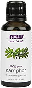 NOW Solutions Camphor Essential Oil, 1-Ounce