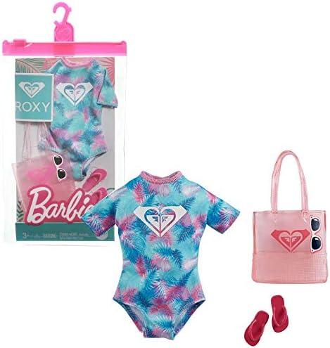 Barbie Roxy GRD41 Ensemble de v/êtements de plage