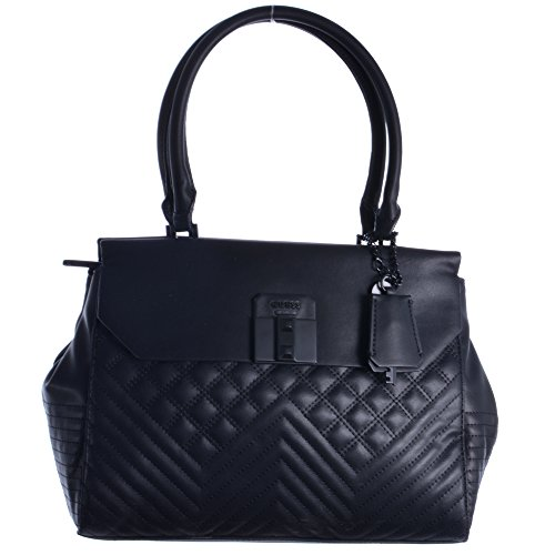 Guess - Bag Tote Black Synthetic Material For Black Women