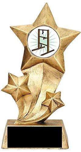 (buyawardsandtrophies.com Resin Stars Ladder Golf Trophy)