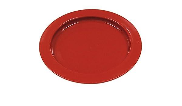 ALIMED 82786 Redware Inner Lip Plate