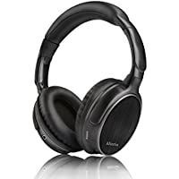 AlierGo Bluetooth Over Ear Headphones, SoundOn Arc Wireless Headset with Microphone, Hi-Fi Stereo Wireless Earphone, Dual 40mm Drivers, 22 Hours Playtime