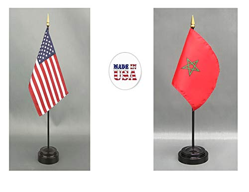 (Made in The USA. 1 American and 1 Moroccan Rayon 4