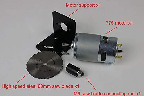 NW 775 Motor High-power Circular Saw Power Circular Saw Multifunctional DIY Circular Saw With Connect Rod Mini Cutting Machine (150WM6) by NW