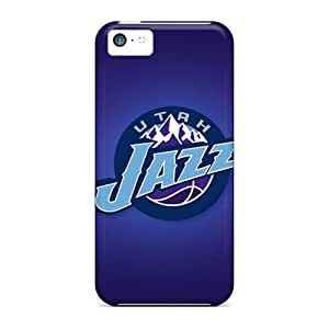 Snap-on Utah Jazz Case Cover Skin Compatible With Iphone 5c