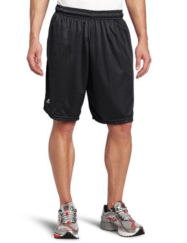 Russell Athletic Men's Mesh Short with Pockets, Stealth, (Russell Athletic Elastic Waist Shorts)