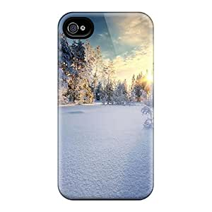 Faddish Phone Winter View Cases For Iphone 6 / Perfect Cases Covers