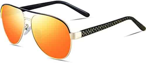 995db4c2979 ATTCL Mens Sunglasses 100% UV Protection Polarized For Driving Fishing Golf