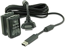 Nyko Pro Power Kit, Xbox 360 - accesorios de juegos de PC (Xbox 360, Negro)
