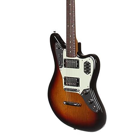 Fender Japón limitada Jaguar HH para guitarra eléctrica - tres tonos Sunburst - jgs 3TS: Amazon.es: Instrumentos musicales