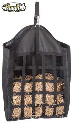 Tough-1 Nylon Hay Tote with Web Front - ()