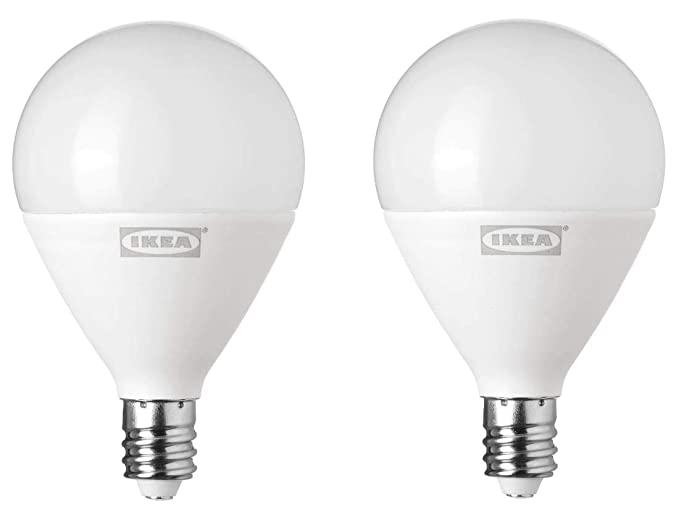 Amazon.com: foco LED RYET E12, 200 lúmenes, globo ópalo ...