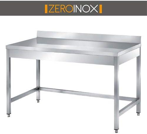 ZeroInox Mesa de Acero Inoxidable Profesional con – tartera, Todas ...