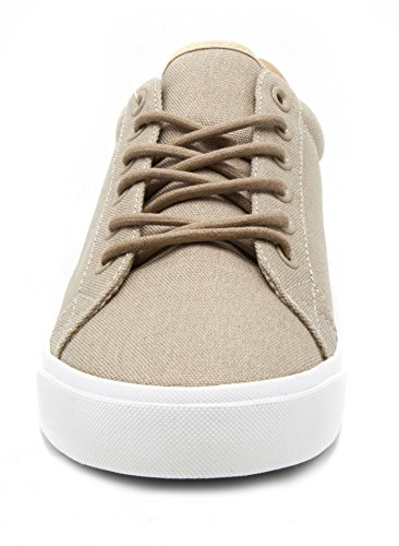 London Tåke Menns Bayswater Lerret Sneaker Tan