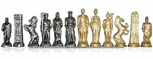 【祝開店!大放出セール開催中】 Italfama Romans Romans and Barbarians Metal Chessmen B072MTP7SX Italfama B072MTP7SX, BOTANIC GARDEN:7bb37dae --- nicolasalvioli.com