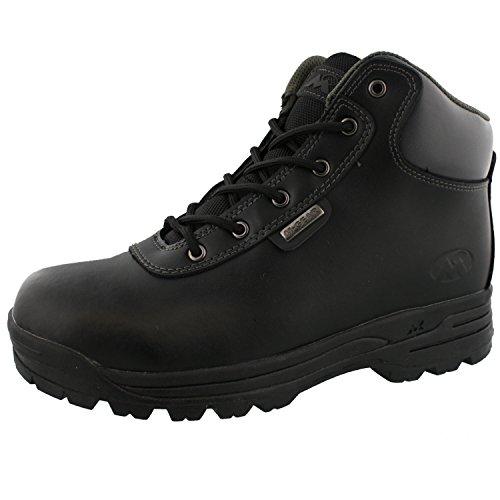 大工アフリカシャックルMountain gear – メンズブラック布ブーツ