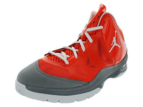Nike Heren Nike Jordan Spelen In Deze Ii Basketbalschoenen 10.5 (team Oranje / Wit / Cool Grijs)