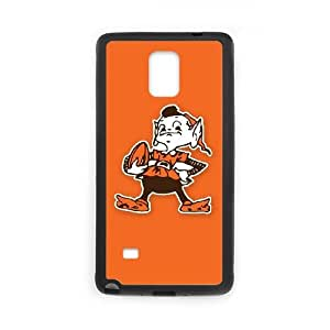 Cleveland Browns Samsung Galaxy Note 4 Cell Phone Case Black DIY gift zhm004_8714732