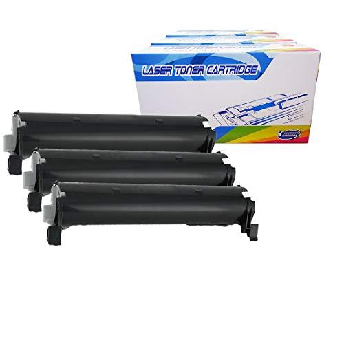 Inktoneram Compatible Toner Cartridges Replacement for Panasonic KX-FA83 KXFA83 KX-FLM651 KX-FL511 KX-FL541 KX-FL611 (Black, 3-Pack)