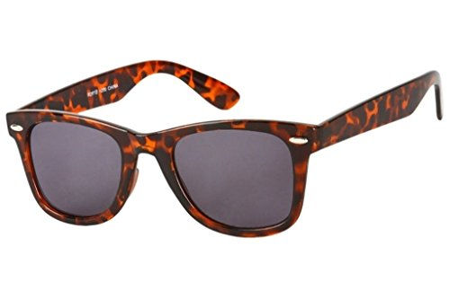 Readers.com the Dallas Wayfarer Sun Readers Reading Sunglasses +1.50 Brown Tortoise (Carrying Case Included)