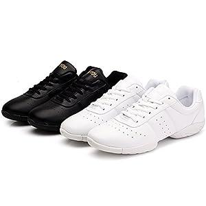 DADAWEN Women's Sport Training Cheerleading Shoes