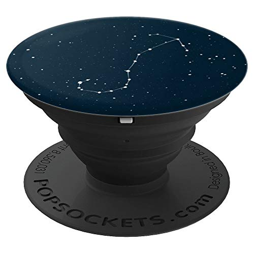 (Scorpio Star Sign Constellation Zodiac Design - PopSockets Grip and Stand for Phones and Tablets )