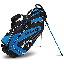 Callaway Golf 2017 Capital Stand Bag, Black/Blue/White