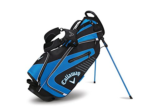 Golf Stand Carry Bag (Callaway Golf 2017 Capital Stand Bag, Black/Blue/White)