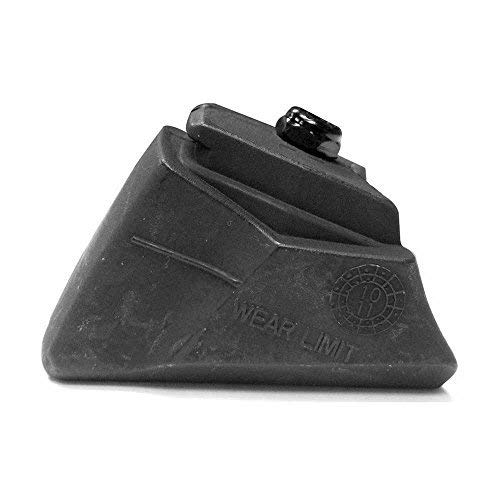 Rollerblade Standard Brake Pad Inline Skates (1 Pack), Black