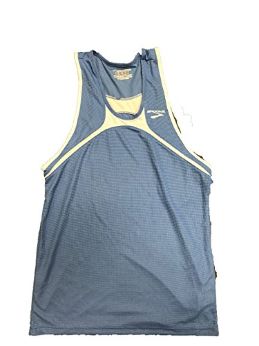 (Brooks Athletics Mens Racer Back Singlet/Jersey(XX-Large, Light)