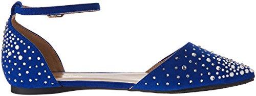 Womens PAIRS Blue DREAM Royal Flapointed PAIRS DREAM Shine Pump q114t