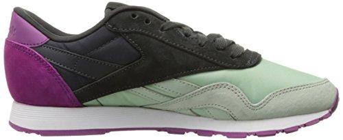 fierce Sneaker coal Classic Sage Fuchsia Mist Reebok CxZvzqwfP