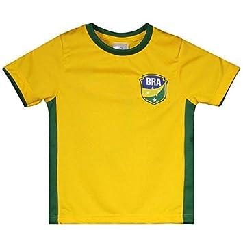 e6d2fc34be Camisa Brasil Gravataí Infantil N° 10  Amazon.com.br  Esportes e ...