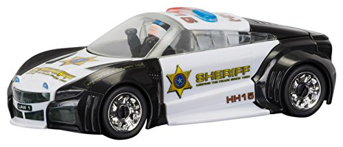 Scalextric C3709 QUICKBUILD Police Car Crash and Bash Slot Car (1:32 Scale) (32 Scale Body Car Slot)