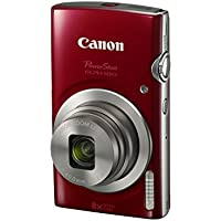 Canon PowerShot ELPH 180 Digital Camera w/ Image Stabilization and Smart AUTO Mode (Red)