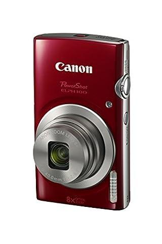 Canon PowerShot ELPH 180 Digital Camera w/ Image Stabilization and Smart AUTO Mode (Red) (Digital Cameras)