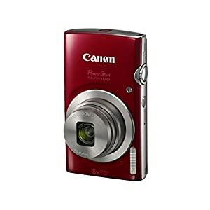 41vVi99vSoL. SS300  - Canon PowerShot ELPH 180 Digital Camera w/Image Stabilization and Smart AUTO Mode (Red)
