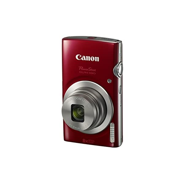 41vVi99vSoL. SS600  - Canon PowerShot ELPH 180 Digital Camera w/Image Stabilization and Smart AUTO Mode (Red)