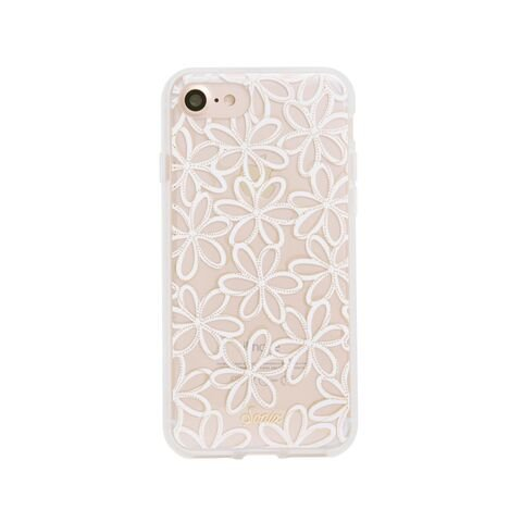 pretty nice 41399 7f72f iPhone 8 / iPhone 7, Sonix Sweet Pea (White,Flowers) Cell Phone Case -  Military Drop Tested - Retail Packaging - Sonix Clear Case Series for Apple  ...