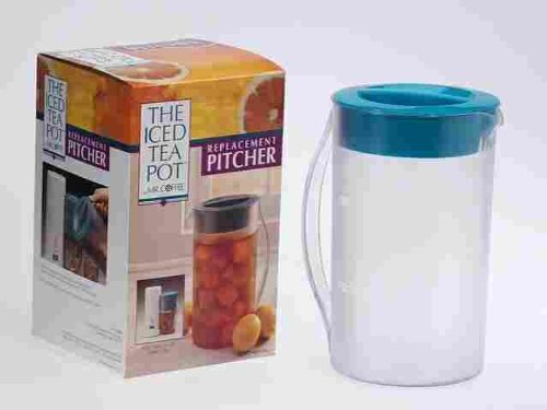 Mr. Coffee Replacement Pitcher For Iced Tea Maker Clear, Plastic 2 Qt. by Sunbeam