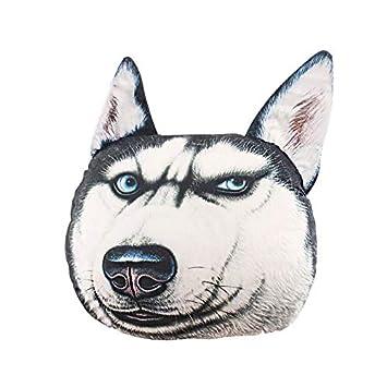Dog Samoyed Husky Plush Toy Puppy Animal Stuffed Home Decoration Birthday Gift