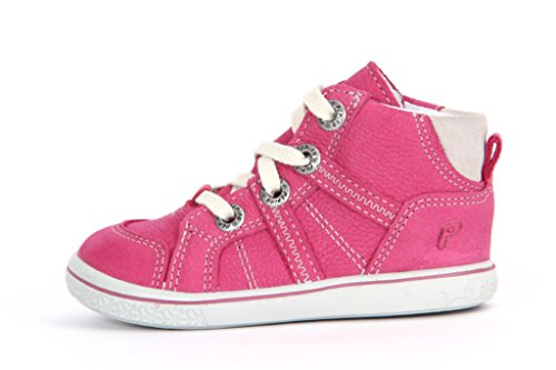 Ricosta Mädchen Danny Hohe Sneaker Pink (Peony)