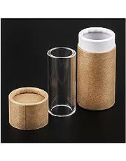kasu 2 stks Comfortabele Glas Gitaar Schuif Vinger Slider Lengte 60mm Diameter 26mm met Box Case Fit voor Accessoires Acoustische Gitaaronderdelen