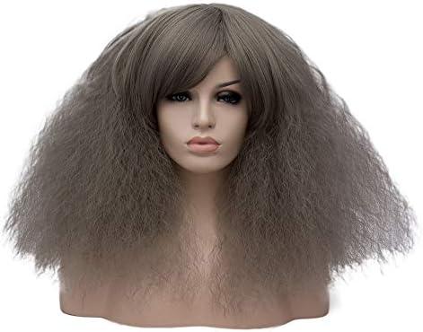 SKAYS - Peluca larga y rizada para disfraz, pelucas cortas y ...