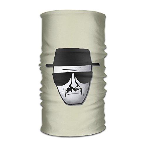 [YUVIA - Breaking Bad Heisenberg Logo Multifunctional Magic Headkerchief] (Bad Habit Costumes)