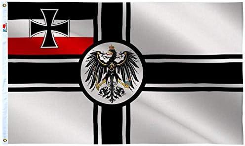 rhungift - Bandera de Alemania de la Guerra Imperial Alemana, 3 x ...